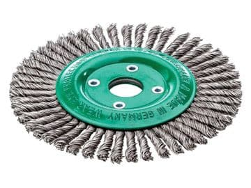 Pipeline Brush 40 Knots 125 x 22.2mm Bore Stainless Steel Wire